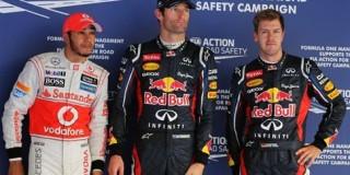 Οι τρεις πρώτοι της εκκίνησης του Grand Prix της Κορέας