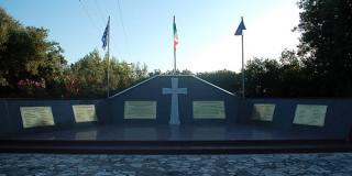 Το μνημείο των πεσόντων Ιταλών της Μεραρχίας Acqui στο Αργοστόλι