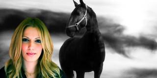 Το μαύρο άλογο της Στέλλας Αλαφούζου