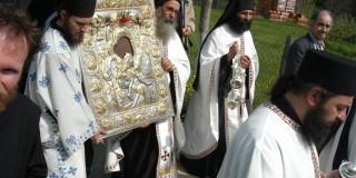 Η εικόνα του «Άξιον Εστί» στην Θεσσαλονίκη