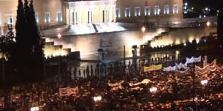 Συλλαλητήριο κατά των νέων μέτρων στο Σύνταγμα