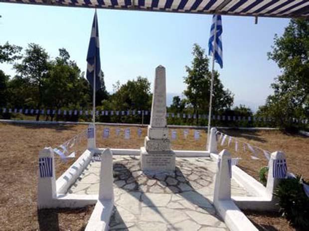 Μνημείο πεσόντων στις μάχες του Λάλα