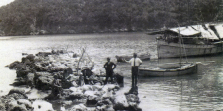 To λιμάνι του Πόρου στα βάθη των χρόνων