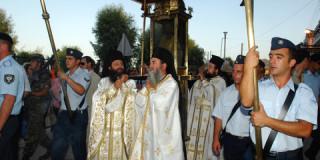 Η λιτανεία του Αγίου Διονυσίου στην πολη της Ζακυνθου