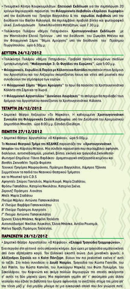 Εορταστικές εκδηλώσεις ΚΕΔΗΚΕ