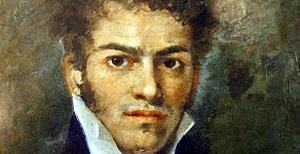 Αυτοπροσωπογραφία, Γεράσιμος Πιτζαμάνος, 1820 (λάδι σε χαρτί, Εθνικό Ιστορικό Μουσείο, Αθήνα)