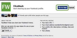 Facebook Wash