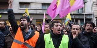 Διαμαρτυρία  Κούρδων