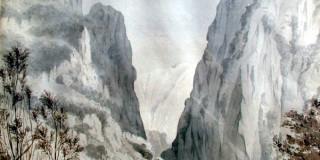 Ανατολική απόληξη της κοιλάδας του Αρακλίου. Κεφαλληνία 16-03-1832