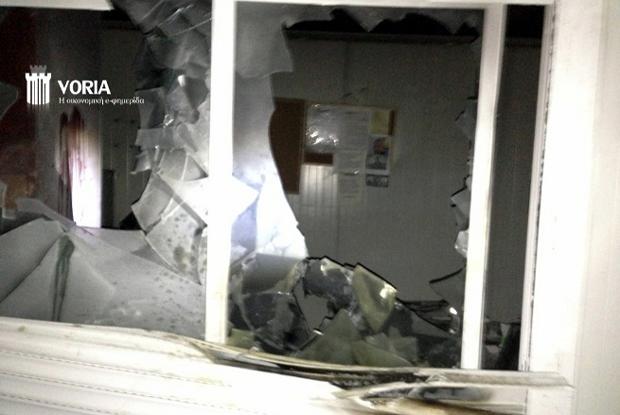μπρηστική επίθεση στις Σκουριές Χαλκιδικής