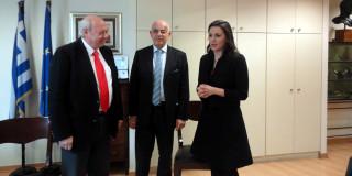 Ο κ.Παρίσης με την Υπουργό Τουρισμού