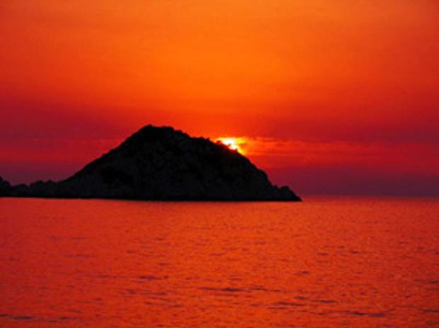Ηλιοβασίλεμα στην Αγ.Θέκλα