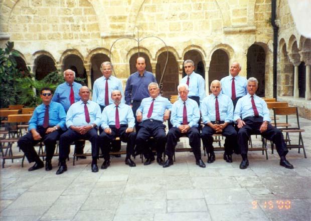 2001 - το εκκλησιαστικό τμήμα στην Ιταλία