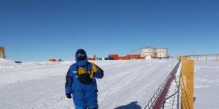 Ενας Ελληνας στην Ανταρκτική