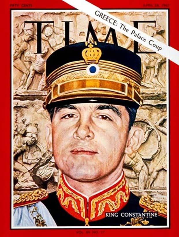 Ο βασιλιάς Κωνσταντίνος