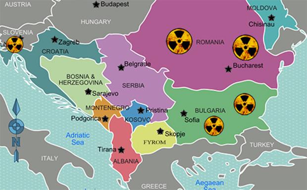 Τα πυρηνικά εργοστάσια στη γειτονιά της Ελλάδας