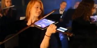 Έπαιξαν Μπετόβεν με... τα ipad και τα iphone! – Βίντεο