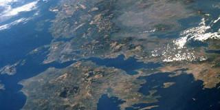 Η Ελλάδα από δορυφόρο
