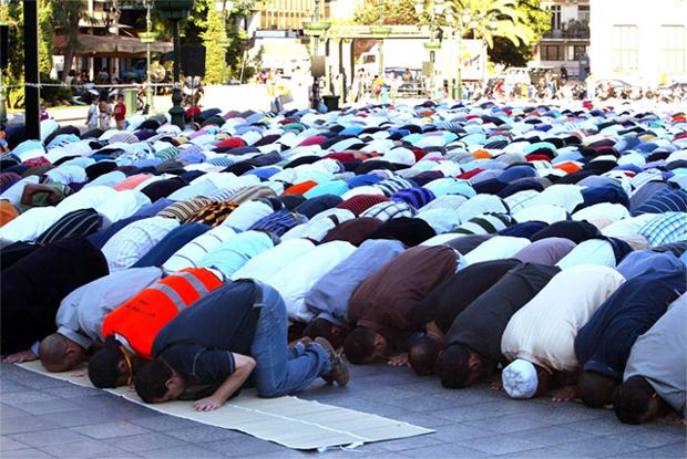 Προσευχή Μουσουλμάνων