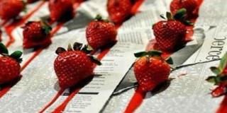 Φράουλες με αίμα