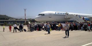 Αεροσκάφος της FINAIR στην Κεφαλονιά