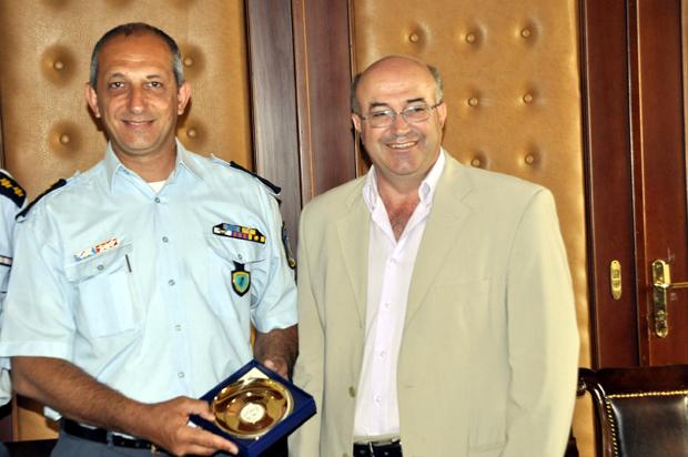 Επίσκεψη του Γενικού Αστυνομικού Διευθυντή Περιφέρειας Ιονίων Νήσων στην Κεφαλονιά