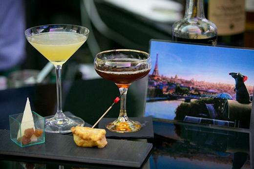 Τα κοκτέιλ του Θοδωρή Πυρίλλου στο Bartender, bar chef challenge. Μεταξύ αυτών και το «Remy goes above the clouds»