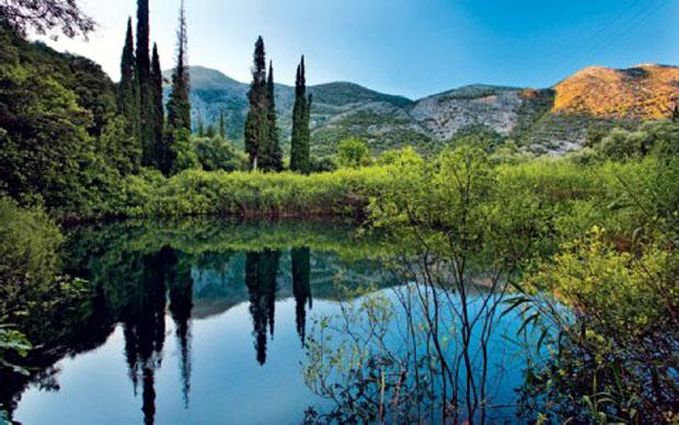 Η λίμνη Αβυθος, αν και μικρή σε έκταση, «συντηρεί» ένα σημαντικό οικοσύστημα.