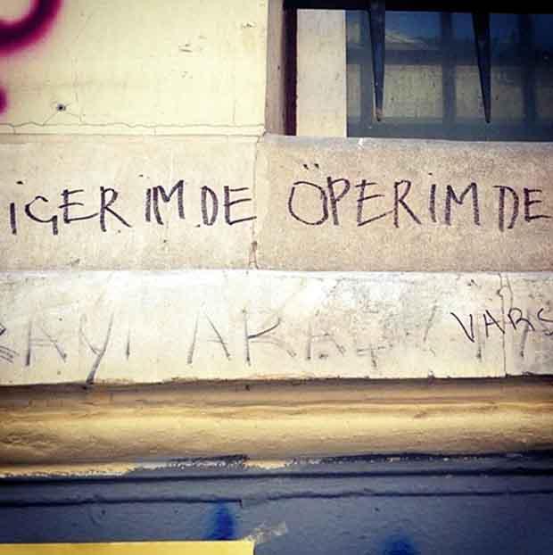 Τουρκία Γκράφιτι