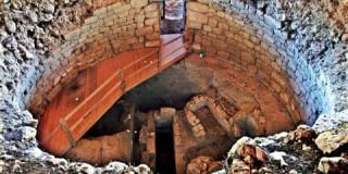 Ο θολωτός μυκηναϊκός τάφος στα Τζανάτα, κοντά στον Πόρο