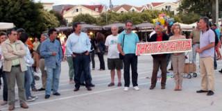 Συγκέντρωση στην Πλατεία Αργοστολίου