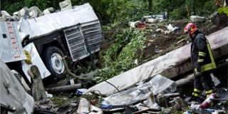 Ιταλία: Στους 39 οι νεκροί από την πτώση του λεωφορείου