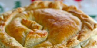 Πίτα με μοσχάρι και μπύρα - Pie with beef cooked in beer