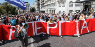 Απεργιακός «καύσωΑπεργιακός «καύσωνας» ενάντια στο πολυνομοσχέδιονας» ενάντια στο πολυνομοσχέδιο