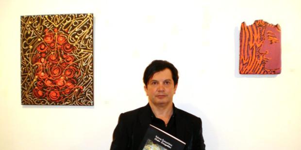 Ο διακεκριμένος ζωγράφος, λογοτέχνης, περφόρμερ και θεωρητικος της τέχνης κ.Κώστας Ευαγγελάτος