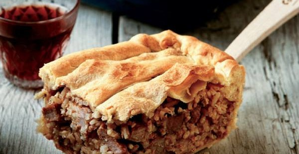 Kefalonian Meat Pie