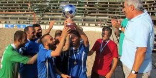 Πρωταθλήτρια Beach Soccer Α.Ο. Κεφαληνία