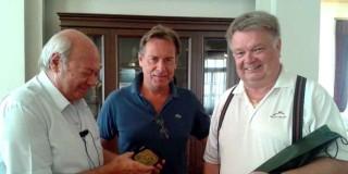 Επίσκεψη Πρέσβεων Σουηδίας και Βελγίου στο Δημαρχιακό Μέγαρο Κεφαλονιάς