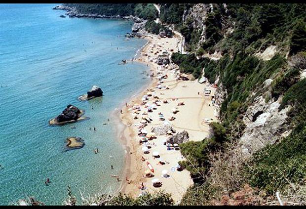 Κέρκυρα, παραλία Μυρτιώτισσας