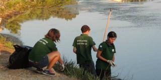 Καθαρισμός του Κουτάβου απο τον Φορέα Διαχείριση Εθνικού Δρυμού Αίνου