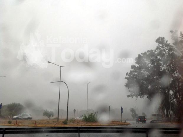 Ισχυρή βροχόπτωση