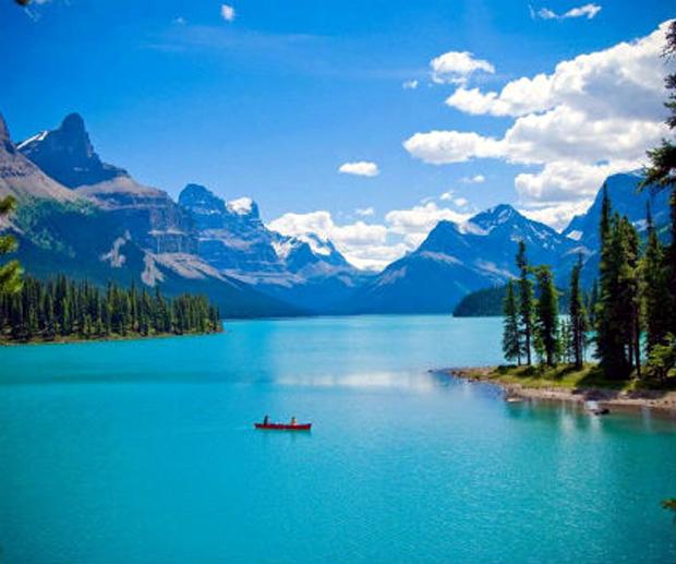 Maligne Lake, Καναδάς