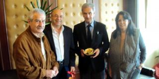 Επίσκεψη του Βουλευτή της ΔΗΜΑΡ κου Σπ. Λυκούδη στον Αντιπερεριφερειάρχη