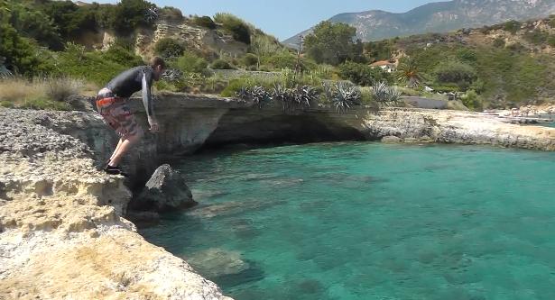 Καραβάδος, Άγιος Θωμάς και Cliff jumping !