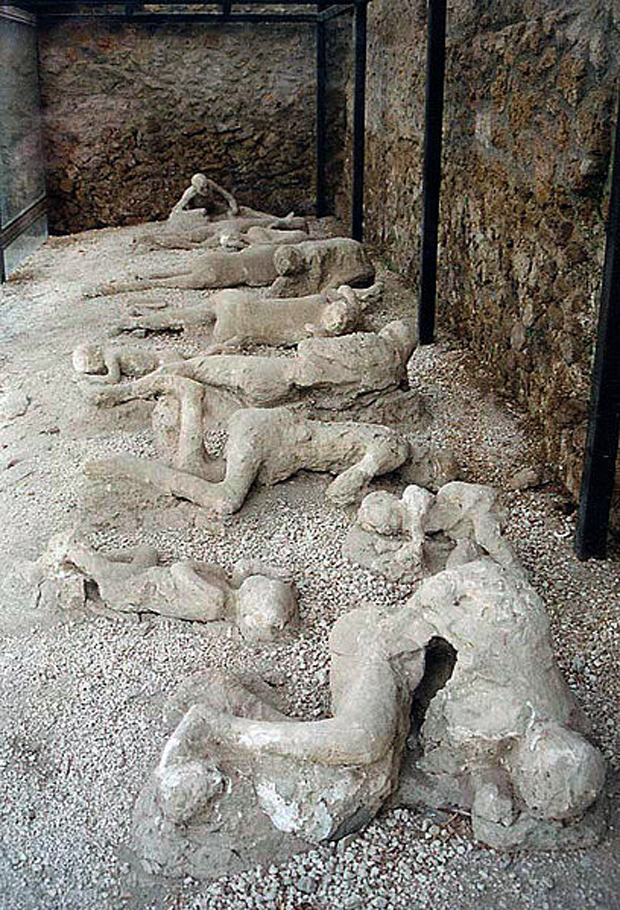 Ο «Κήπος των Φυγάδων» στην Πομπηία. Πηγή Φωτ.: WikiMedia Commons