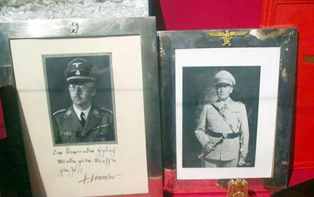 Ναζιστικό μουσείο και όπλα στη βίλα Πάλλη