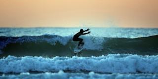 Κάνοντας surfing στη Κεφαλονια