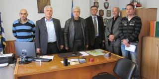 Επίσκεψη του Γ.Γ του Σ.Ε.Ενότητας στην Κεφαλονιά