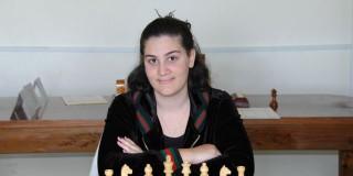 Η κ. Κατερίνα Παυλίδου, πρωταθλήτρια Ελλάδας 2012.