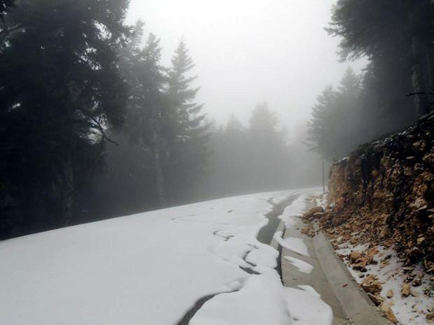 Χιόνια στον Αίνο